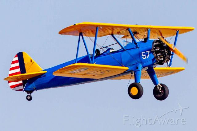 Boeing PT-17 Kaydet (N5158N) - This was really awesome!