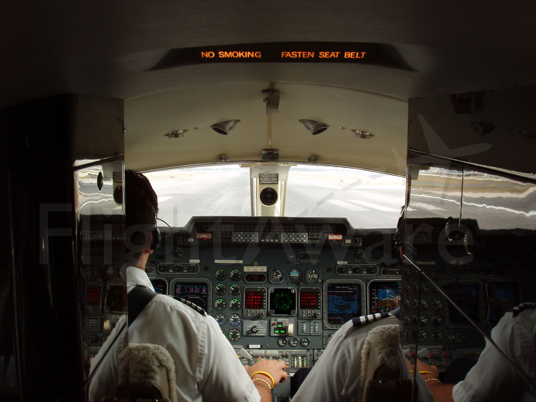 Learjet 60 (N660BC) - Taking of from Opalocka Airport