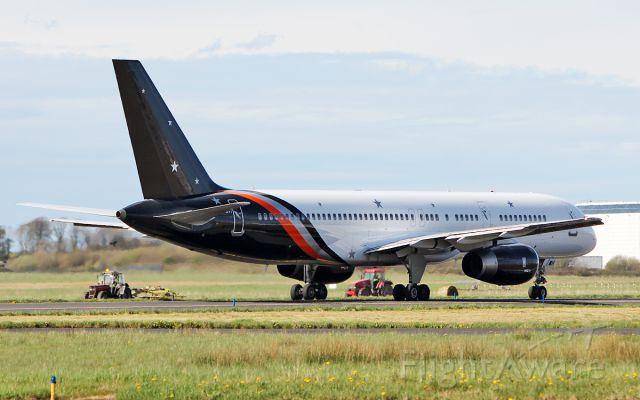 Boeing 757-200 (G-POWH) - titan airways b757-256 g-powh dep shannon for riga 21/4/18.