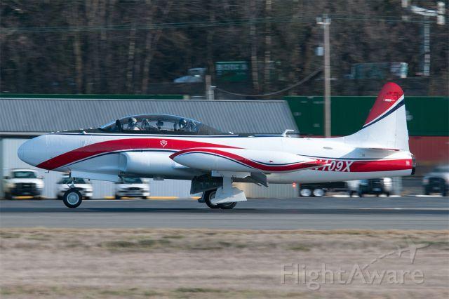 Lockheed T-33 Shooting Star (N109X)