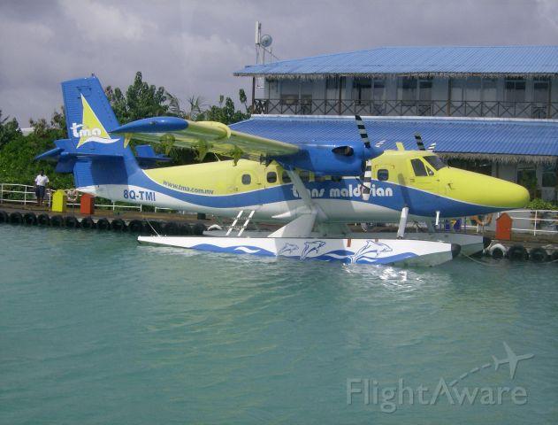 De Havilland Canada Twin Otter (8Q-TMI) - Trans Maldivian Airlines