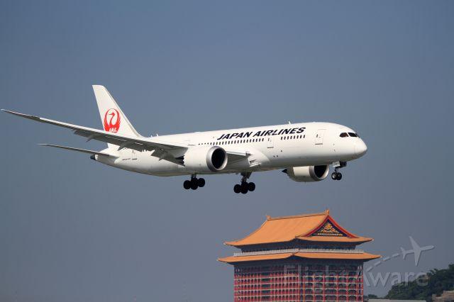 Boeing 787-8 (JA821J) - JAL 787 first arrive TSA