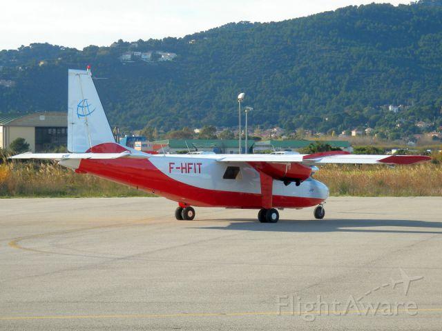 ROMAERO Turbine Islander (F-HFIT)