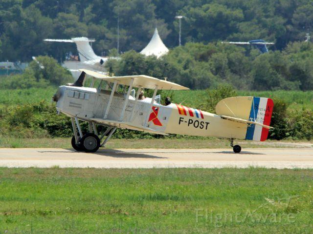 BREGUET 14 Replica (F-POST) - 30 juin 2016 .br /one hour airshow for retirement of Super Etendard Modernisé
