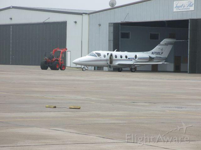 N702LP — - Preparing for  next day`s flight to Huntingburg,IN.