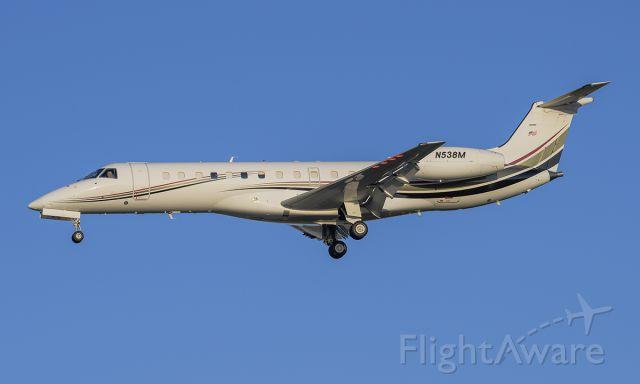 Embraer ERJ-135 (N538M) - Runway 20R arrival @KDPA.