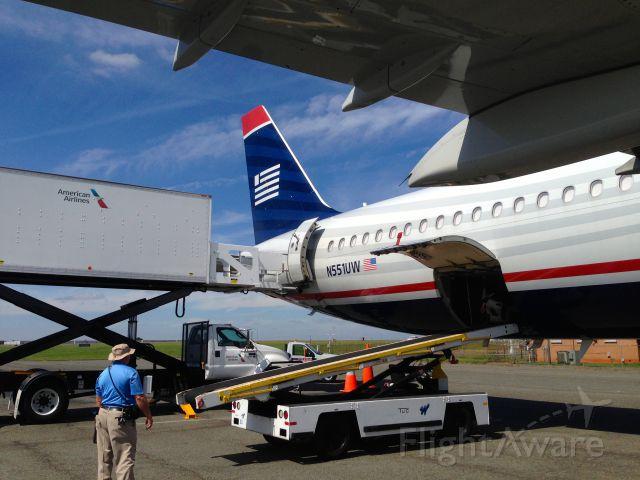 Airbus A321 (N551UW) - Carolina Panthers charter