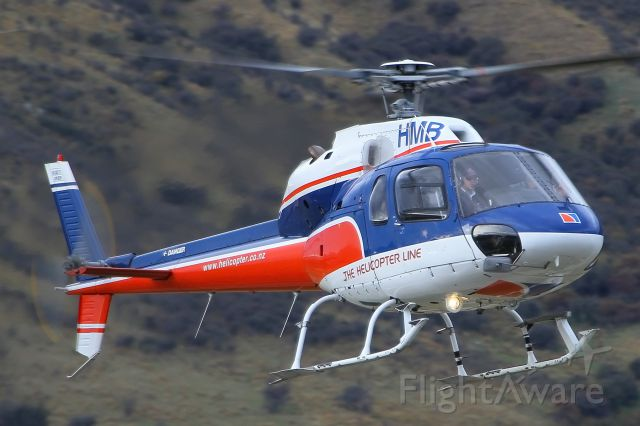Eurocopter AS-350 AStar (ZK-HMB) - back from another tourist flight