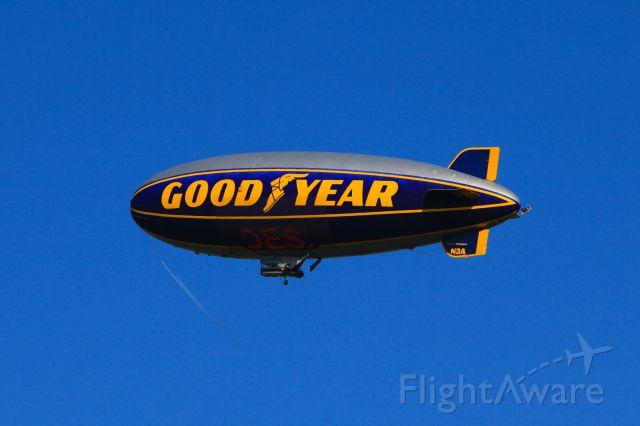 N3A — - Goodyear Airship at the Hickory Airport May 27 2013
