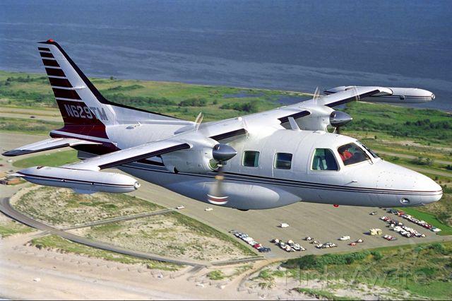 Mitsubishi MU-2 (N629TM) - Fly by Field 5 Robert Moses...