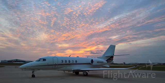 Cessna Citation Sovereign (N504QS) - Done for the day