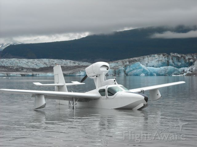 LAKE LA-200 (N79PL) - Knik Glacier