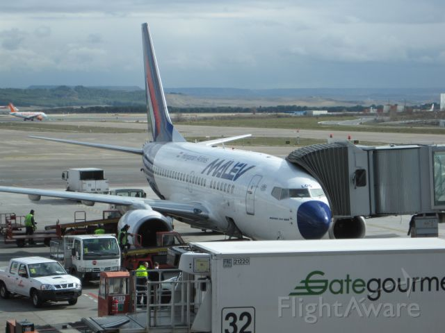 Boeing 737-700 (HA-LOG) - Loading the plane