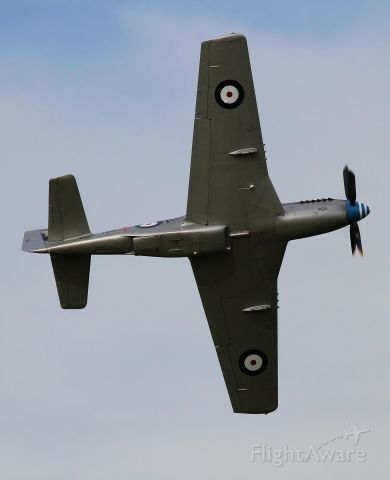 North American P-51 Mustang (VH-MFT) - Matt Hall displaying the Mustang Fighter Trust aircraft at the Cessnock Air Show on 21 9 2018