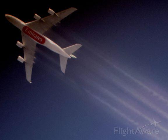 Airbus A380-800 (A6-EDD) - Emirates A380 flying to Sydney on flight 414.