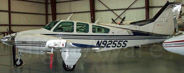 Beechcraft 55 Baron (N9255S)