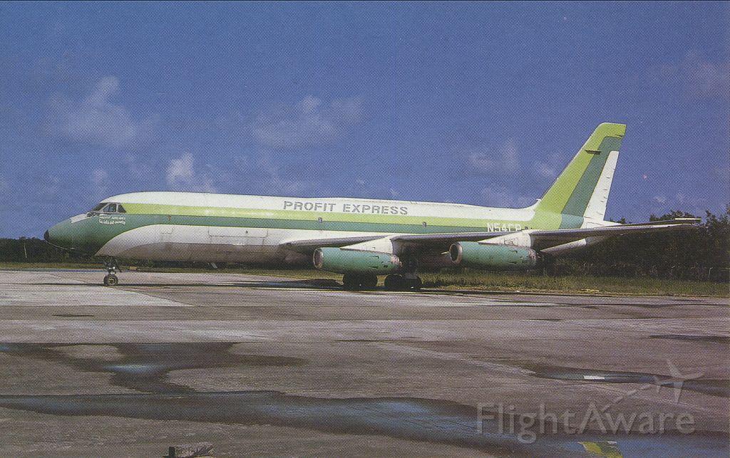 Unknown/Generic Undesignated (N54CP) - scanned from postcardbr /profit expressbr /convair CV-880