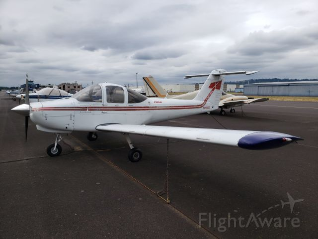 N2566E — - Painted the wingtips blue and polished the spinner.