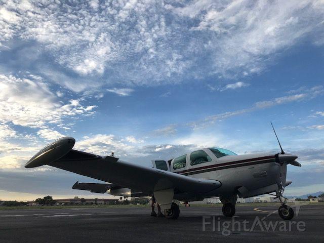 Beechcraft Bonanza (36) (N1116A) - At the FBO at KTUS