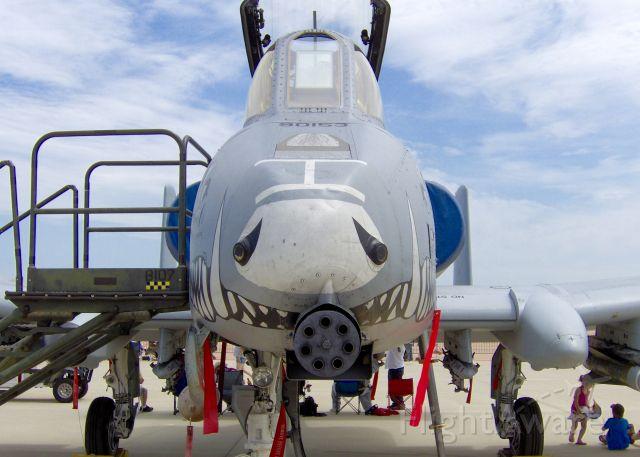Fairchild-Republic Thunderbolt 2 (79-0153) - At Barksdale Air Force Base.