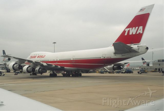 BOEING 747-100 — - Here a rare shot of the once proud american carrier TWA long gone with there 747-100