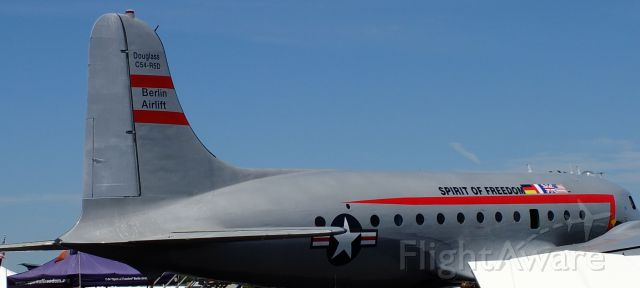 Lockheed C-5 Galaxy (N500EJ) - Douglass C54  Berlin Airlift