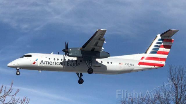 de Havilland Dash 8-300 (N329EN) - March 2018... Offically Retired