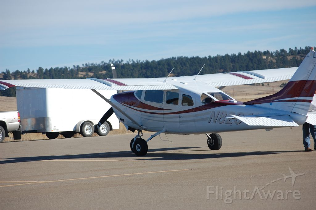 Cessna 205 (N8204Z) - On the ramp afer the flight