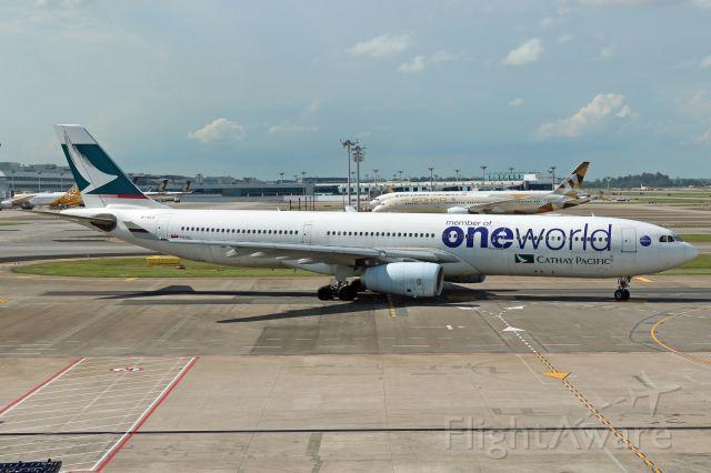 "B-HLU — - ""OneWorld"" livery"
