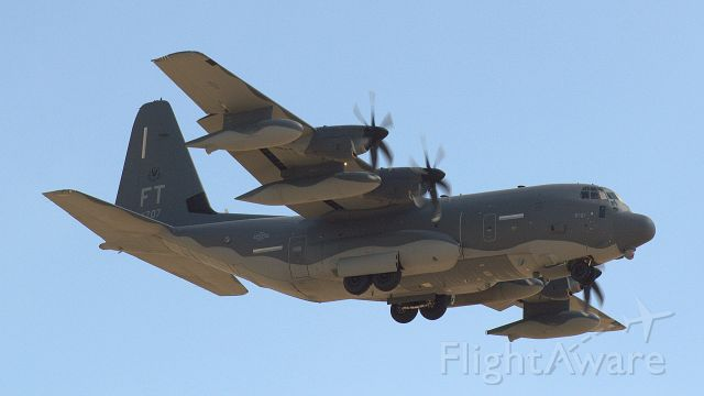 Lockheed C-130 Hercules (09-5707) - HC-130J Combat King II of from the 76th Rescue Sqdrn at Davis-Monthan AFB, AZ