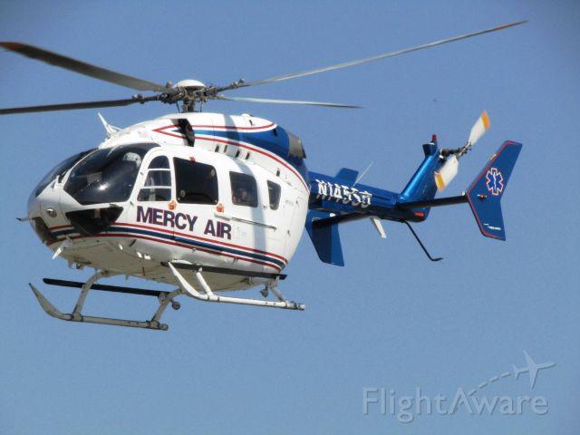 KAWASAKI EC-145 (N145SJ) - Lifting off from Fullerton