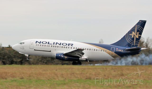 Boeing 737-200 (C-GNLN) - nolinor aviation b737-2b6c(a) c-gnln landing at shannon from casablanca 20/3/20.