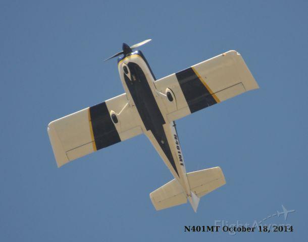 Vans RV-7 (N401MT) - Flying over Tehachapi, CA