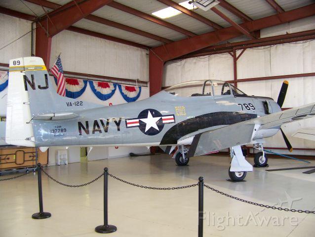 AMU52424 — - Cavanaugh Flight Museum T-28B.