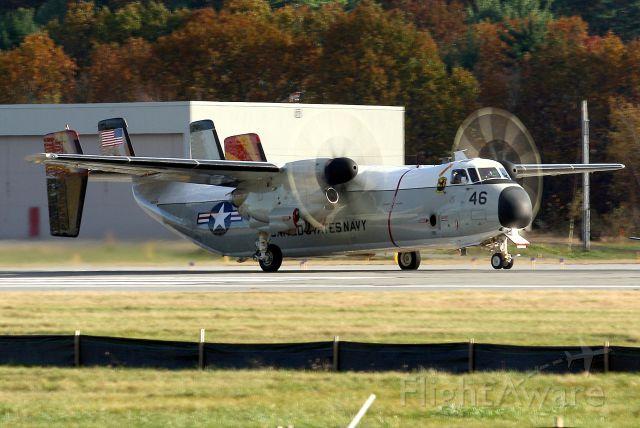Grumman C-2 Greyhound — - U.S. Navy Grumman C-2A Greyhound - From the Fleet Logistics Support Squadron 40 (VRC-40) stationed at Naval Station, Norfolk, Virginia.