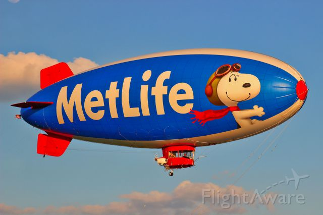 """Unknown/Generic Airship (N615LG) - Callsign """"Snoopy 2"""""""