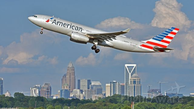 Airbus A330-200 (N284AY) - American Airlines Airbus A330-200 (N284AY) departs KCLT Rwy 36R on 06/01/2019 at 6:44 pm.