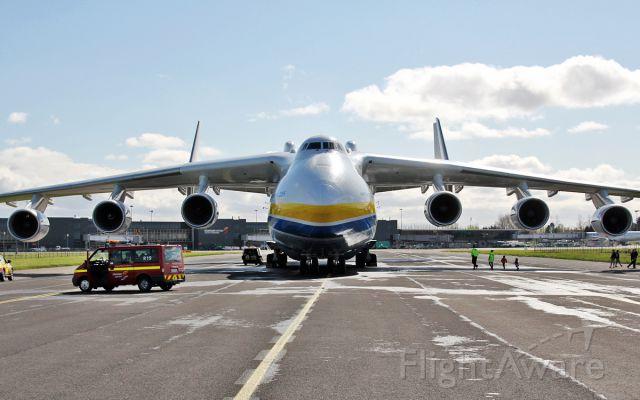 Antonov An-225 Mriya (UR-82060) - an-225 ur-82060 at shannon 12/4/15.