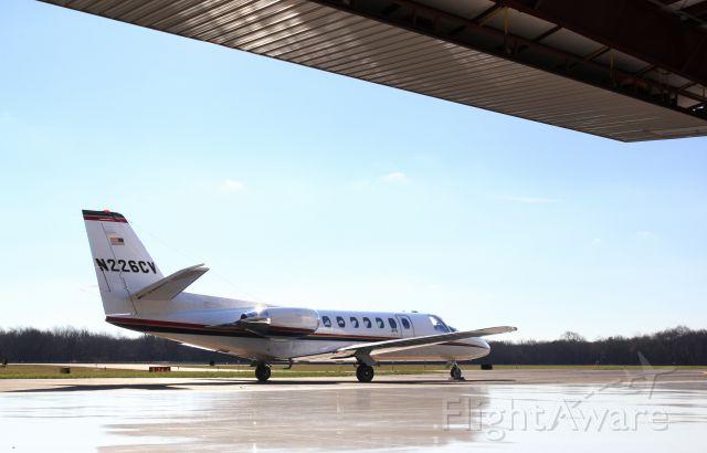 Cessna Citation V (N226CV) - Citation V at KGHG