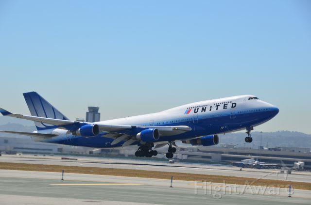 Boeing 747-400 (N173UA)