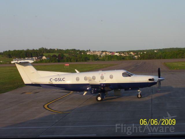 Pilatus PC-12 (C-GSLC)