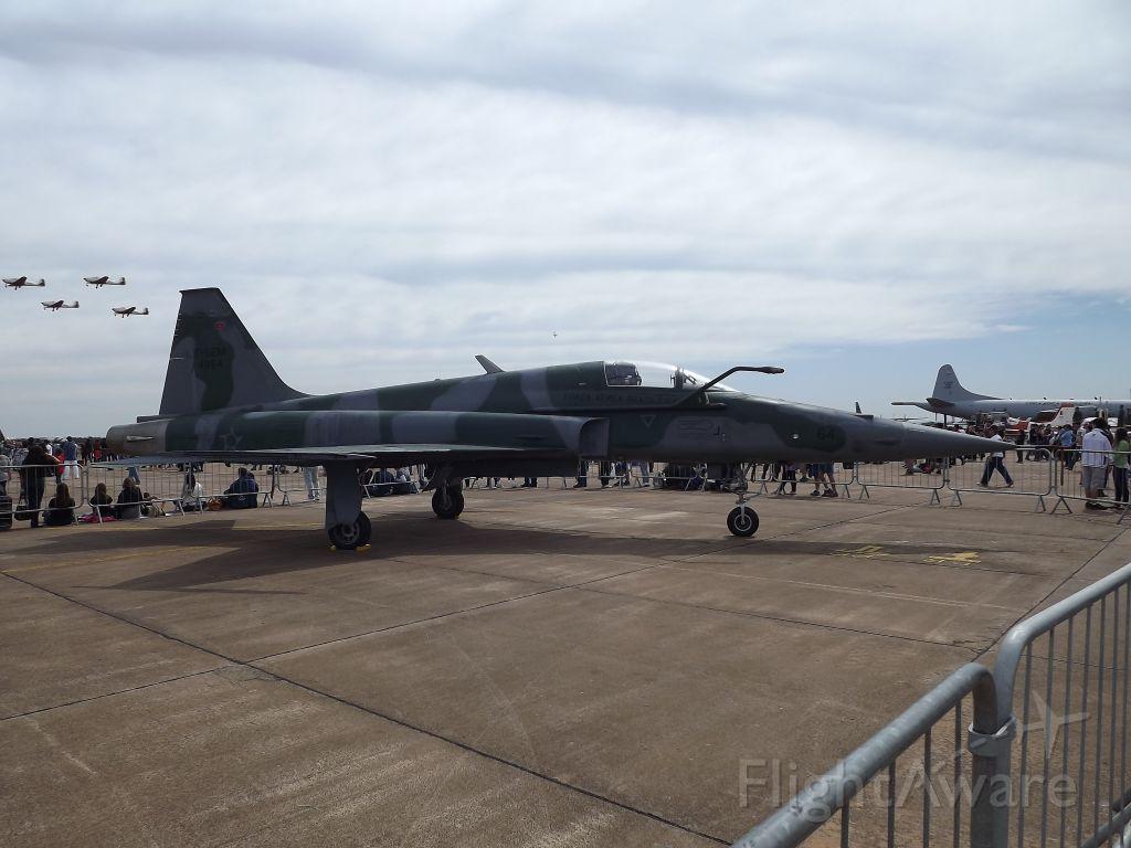 Northrop RF-5 Tigereye (N4864) - Portões Abertos AFA,2013.Academia da Força Aérea,Pirassununga