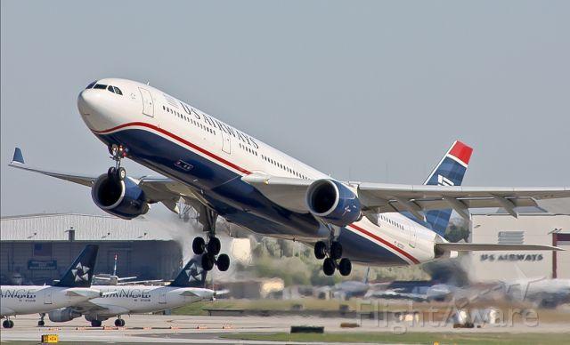 Airbus A330-300 (N272AY) - US Airways flight 704 to Frankfurt Int