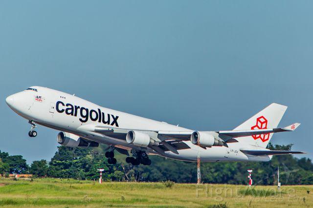 Boeing 747-400 (LX-JCV) - Cargolux / Boeing 747-4EVF(ER)br /Registration: LX-JCVbr /br /Campinas (VCP) - Luxembourg (LUX)br /br /Fotografia: Marcelo Luiz