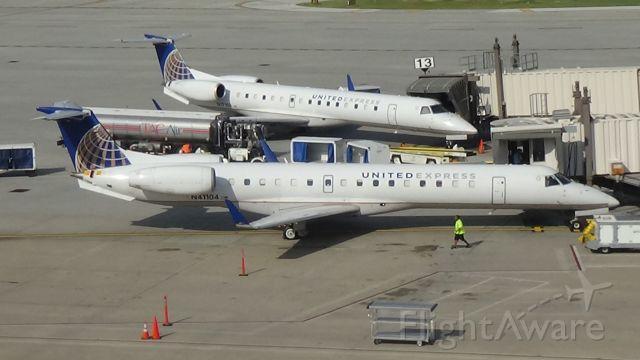 Embraer ERJ-145 — - Two ERJs at Omaha! Date - Sep 2, 2019