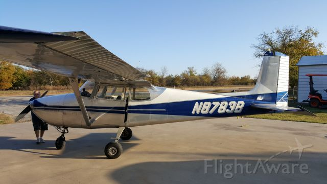 Cessna Skyhawk (N8783B) - 83B before restoration