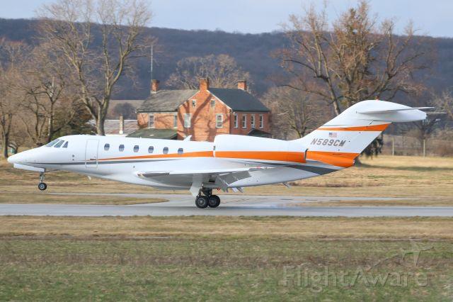 Cessna Citation X (N589CM)
