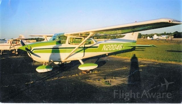Cessna Skyhawk (N20045) - Photo of my aircraft at Bowman Field shortly after the purchase in June of 2002