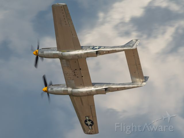 North American Twin Mustang (N887XP) - The XP-82 Twin Mustang doing a few passes at EAA Airventure 2019.