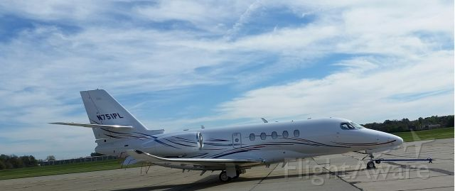 Cessna Citation Latitude (N751PL) - This is a new plane that replace the old plane.